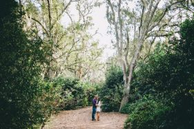 Florida Fall Engagement Session at Bok Tower Gardens