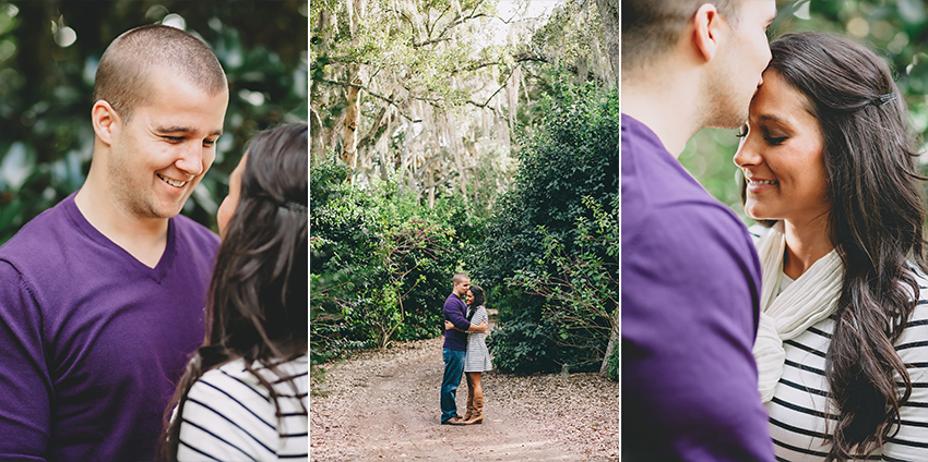 Fall engagement session at Bok Tower Gardens