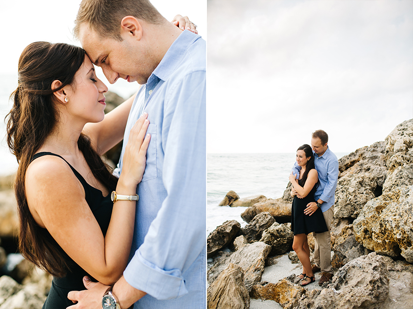 Siesta Key engagement session and wedding photographer on the beach