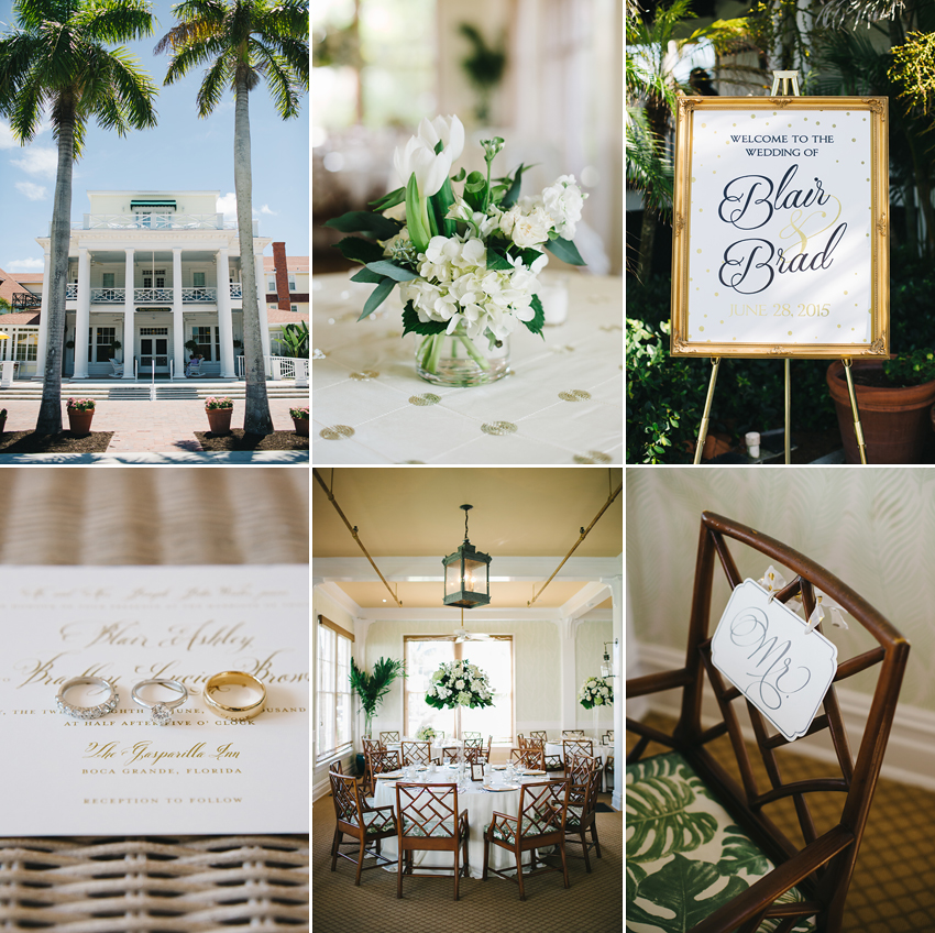 Chic Coastal Wedding At The Gasparilla Inn Boca Grande Photographer