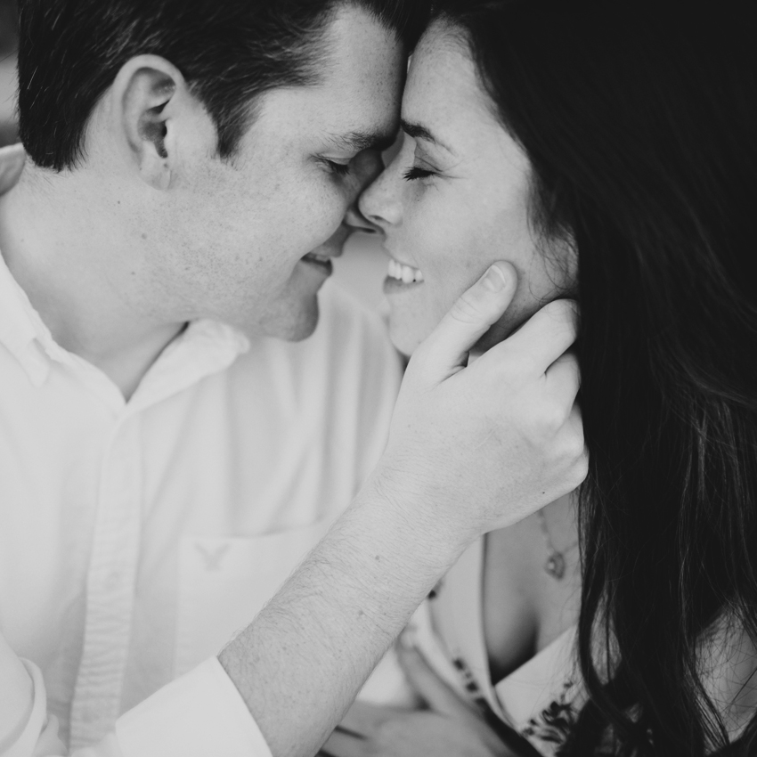 Natural light engagement session in St. Pete Florida