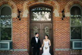 Industrial and urban tampa wedding photography
