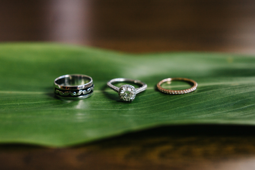 Beautiful custom wedding ring details by Renee Nicole Photography