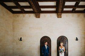 Powel Crosley Estate wedding photos inside the historic waterfront mansion in Sarasota, Florida