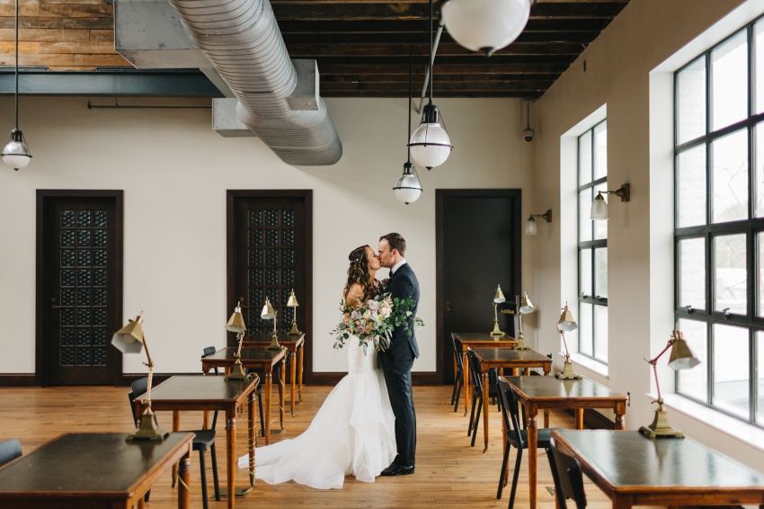 Oxford Exchange Wedding Industrial Venue in Downtown Tampa