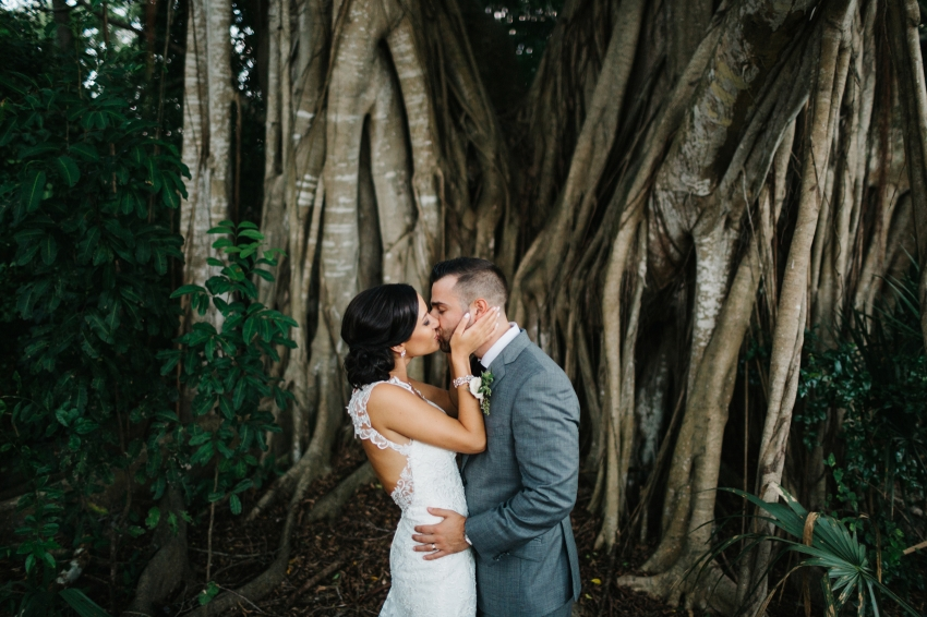 Powel Crosley Estate garden wedding in the fall