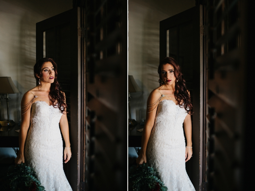 moody bridal wedding photography in Winter Park, Florida