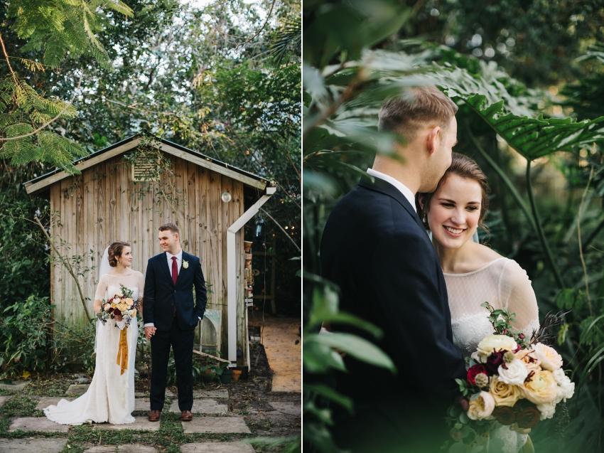Ecelectic garden wedding at Waldo