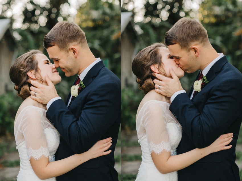 Sweet natural light wedding photography in Orlando, Florida