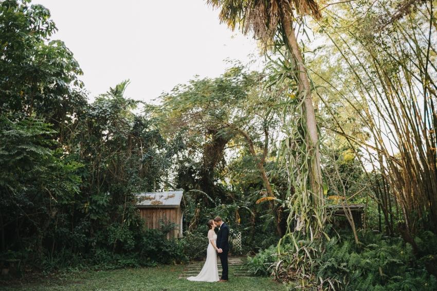 Orlando garden wedding photos